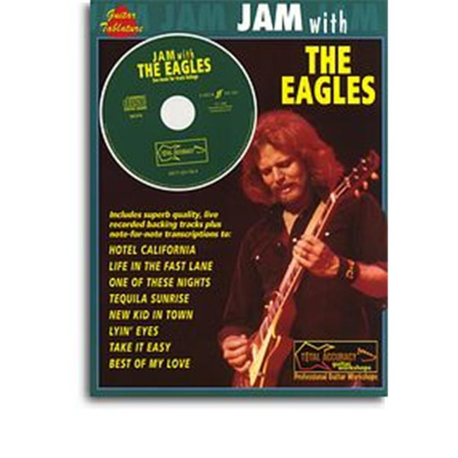 Alfred 12-0571531784 Jam With The Eagles (Guitar TAB CD) Music Book by Alfred