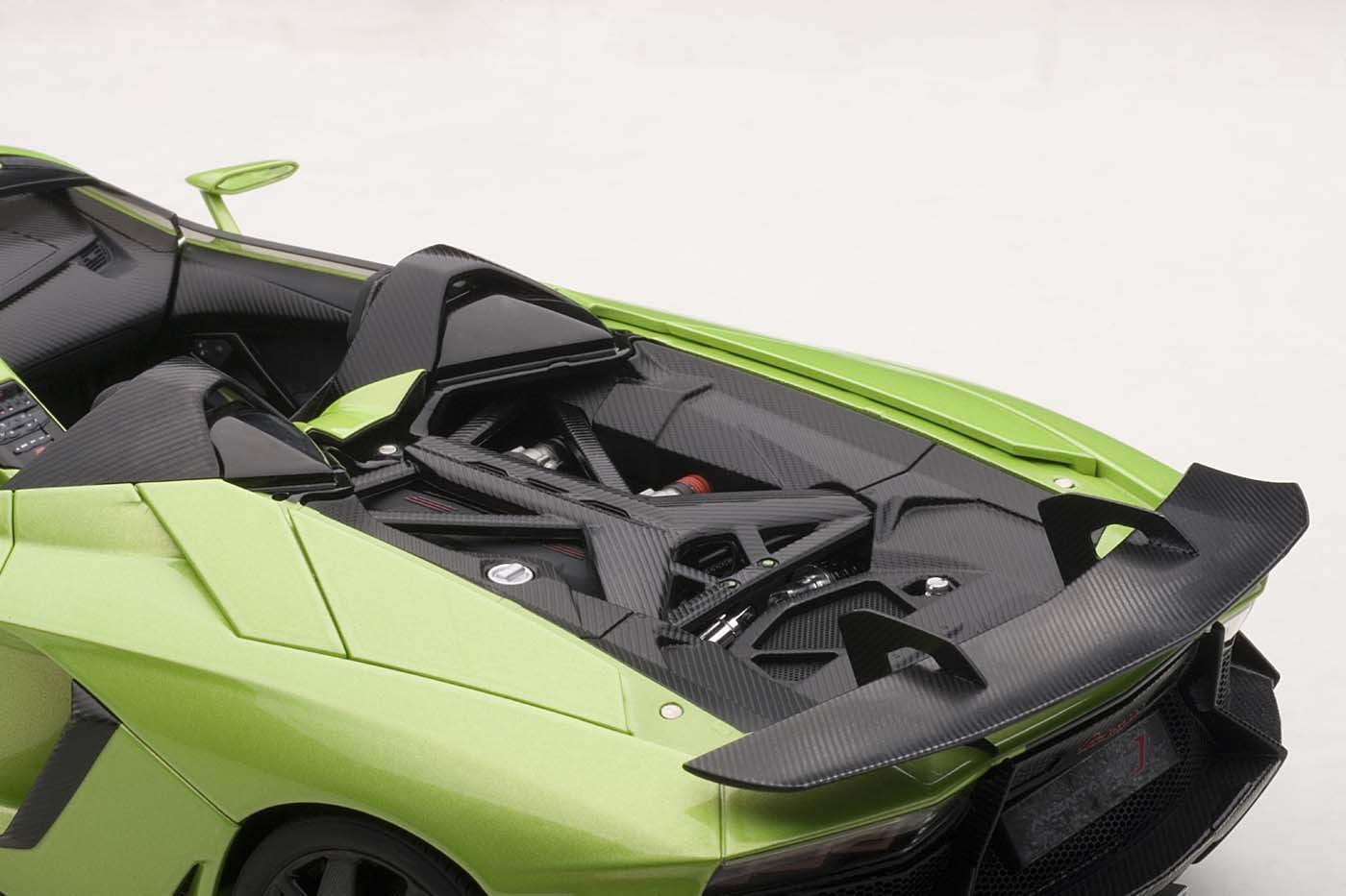 Lamborghini Aventador J Green 1/18 Diecast Car Model By AutoArt    Walmart.com