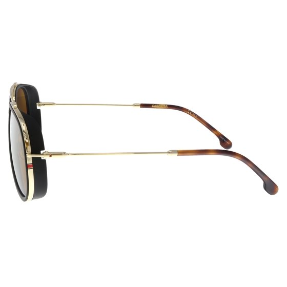bad8ff35feae5 Carrera - Carrera CARRERA 166 S J5g Black  Gold Aviator Sunglasses ...