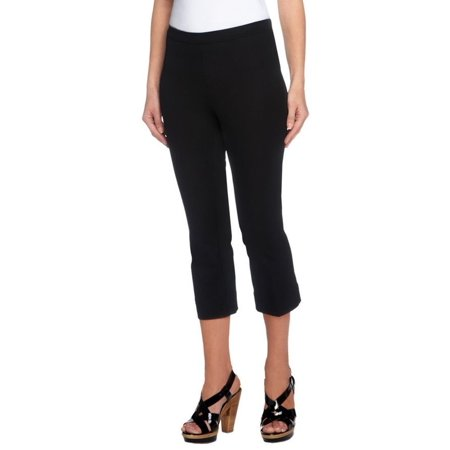 Isaac Mizrahi 24/7 Stretch Pull-On Crop Pants A251353