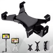 Universal Tablet Tripod Holder 1/4'' Thread Adapter Monopod Mount For iPad Mini 4 3 2 1, For iPad Air / 2, For Samsung Galaxy Tab 7~10.1'' Tablet PC