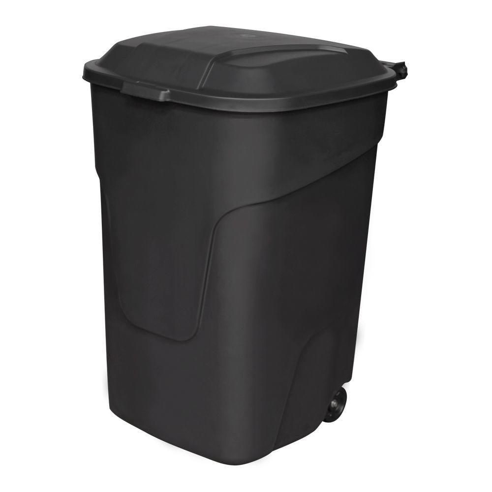 . Hyper Tough 45g Wheeled Trash Can