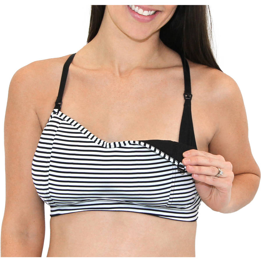 Loving Moments by Leading Lady Maternity Nursing Athleisure Bra