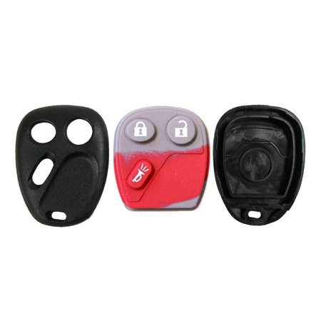 Gm Keyless Entry Remotes - New Replacement for GM Keyless Entry Remote Shell 3B