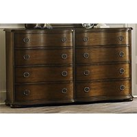 Liberty Furniture Cotswold 8 Drawer Dresser in Cinnamon