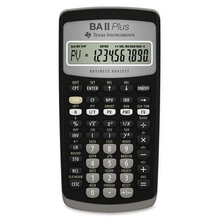 Texas Instruments IIBAPL-TBL-1L1 Ba Ii Plus Financial (Texas Instruments Ba Ii Plus South Africa)
