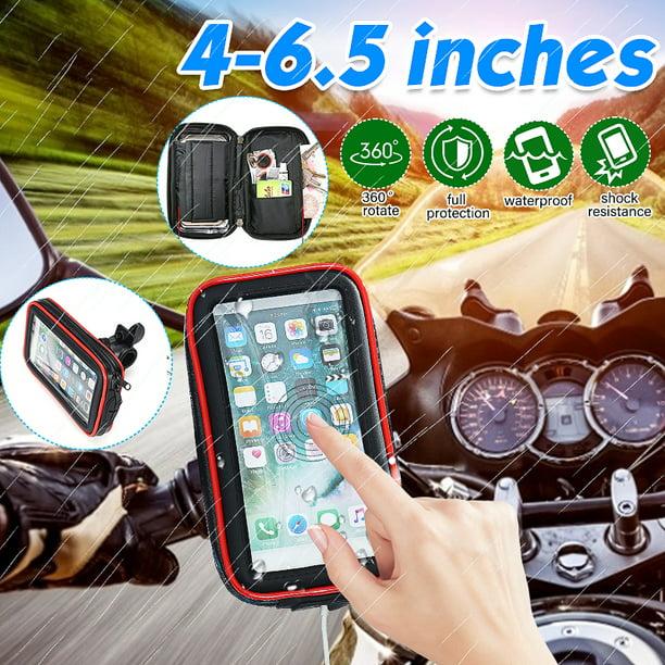 L Waterproof Motorbike Phone Holder 3 Different Size Motorcycle Mount Phone GPS Case Bag