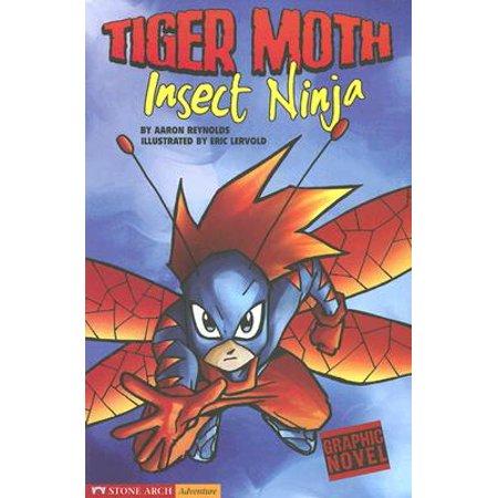 Tiger Moth Airplane (Insect Ninja : Tiger Moth)