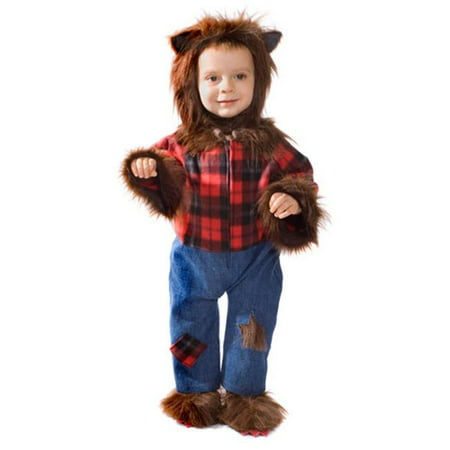 Baby Wolfman Costume - Size T2 - Wolfman Costumes