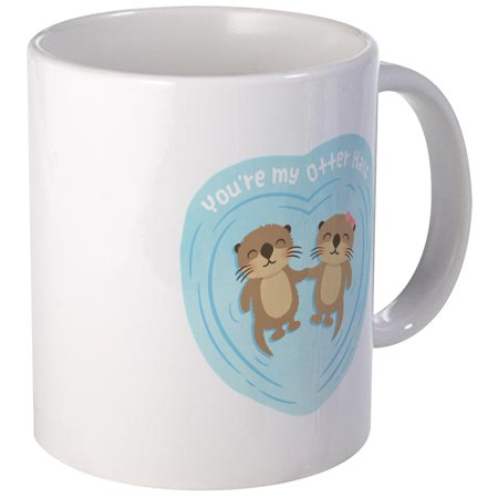 CafePress - You Are My Otter Half Love Pun Humor Mugs - Unique Coffee Mug, Coffee Cup CafePress](Coffee Halloween Puns)
