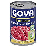 Goya Pink Beans Habichulas Rosadas  16 Oz Can. Pack Of 3.