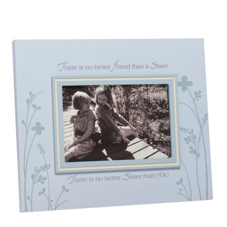 Foundations Sister Photo Frame, 8-Inch, Hand crafted By Enesco Ship from (Best Enesco Aunt Picture Frames)