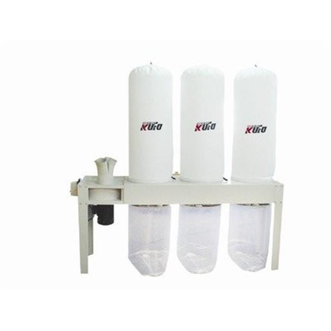 Kufo Seco UFO-103H 5 HP 3,990 CFM 3 Phase 220V-440V Vertical Bag Dust Collector by Kufo Seco
