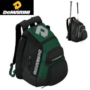 DeMarini Voodoo Paradox Backpack - Black/Dark Green