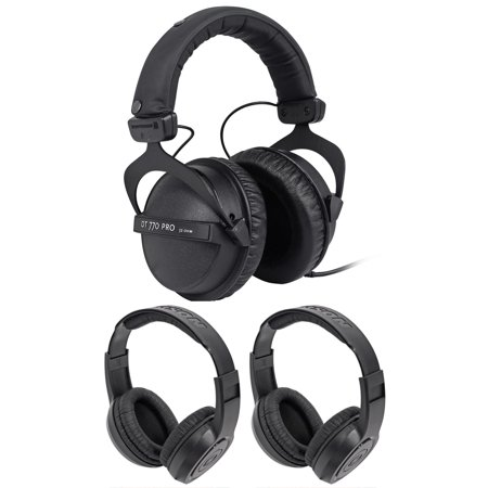 Beyerdynamic DT-770-PRO-32 Ohm Studio Earbuds for Mobile Use+Earbuds!