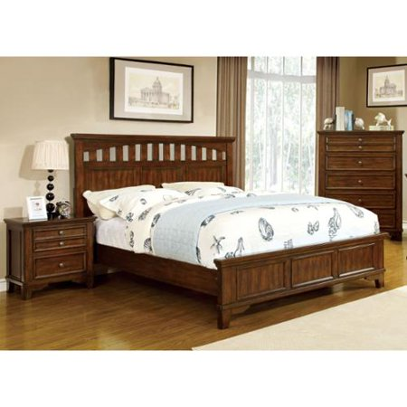 furniture of america farmstead rustic 3 piece bedroom set