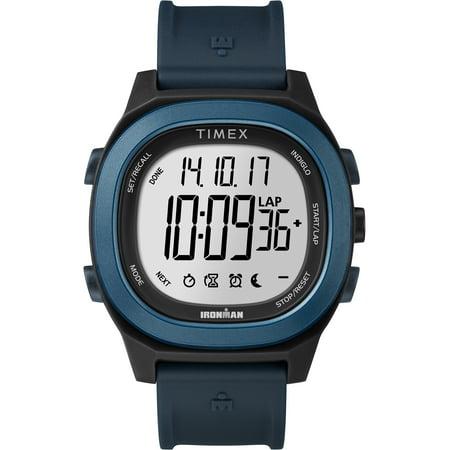 Men's Ironman Transit Full-Size Blue Watch, Resin