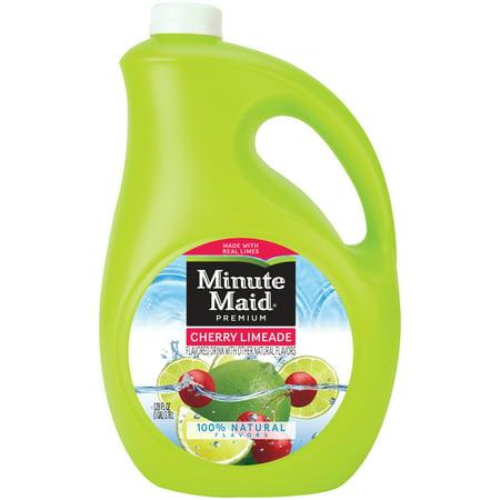 Minute Maid® Cherry Limeade Flavored Drink 128 fl  oz  Jug
