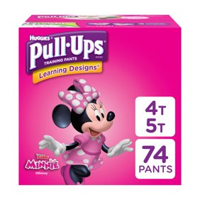 Pull Ups S Learning Designs Training Pants Size 4t 5t 74 Count