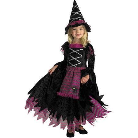 Fairy Tale Witch Child Halloween Costume](Halloween Witch Clipart)