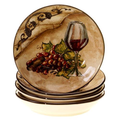 Certified International Tuscan View Soup / Pasta Bowl