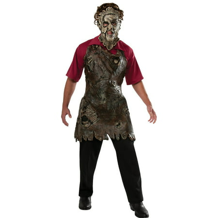 Texas Chainsaw Massacre Leatherface Costume Apron Of Souls Adult One Size](The Texas Chainsaw Massacre Halloween Costume)