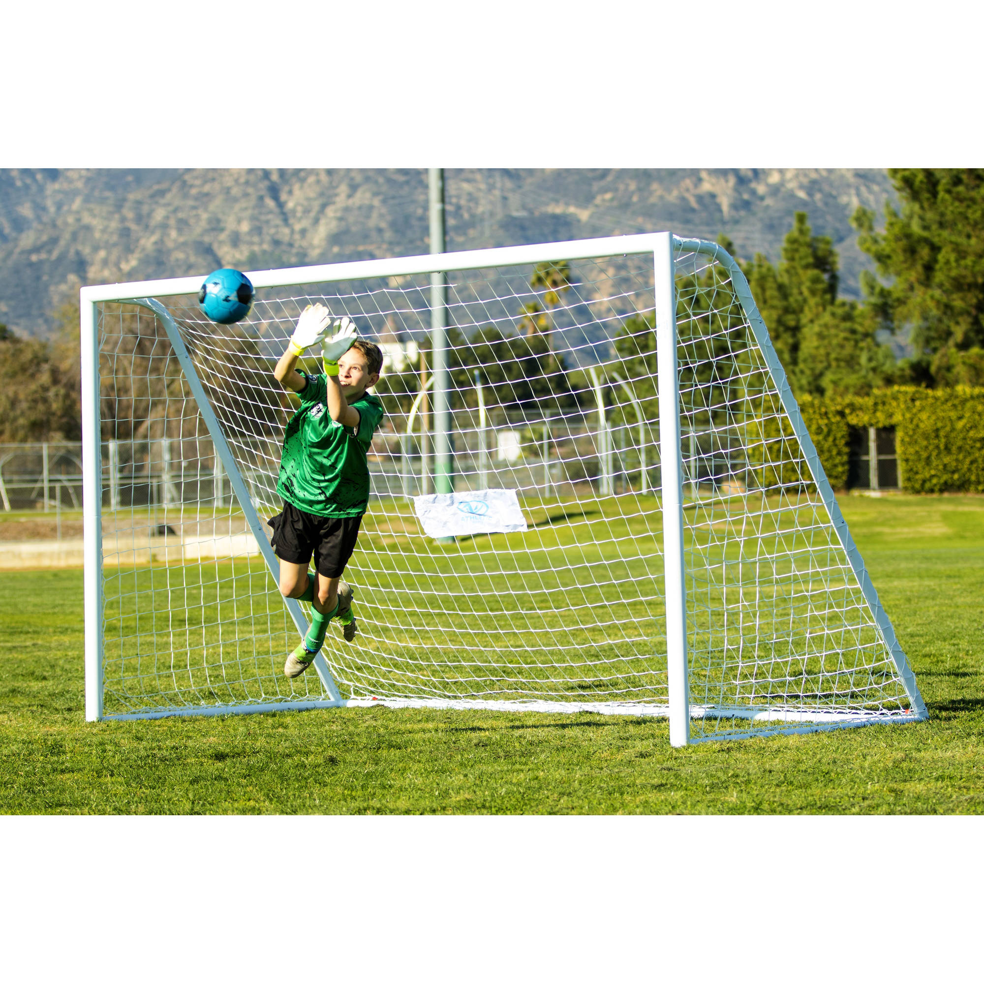 Athletic Works Tournament Soccer Goal by Sportspower Limited