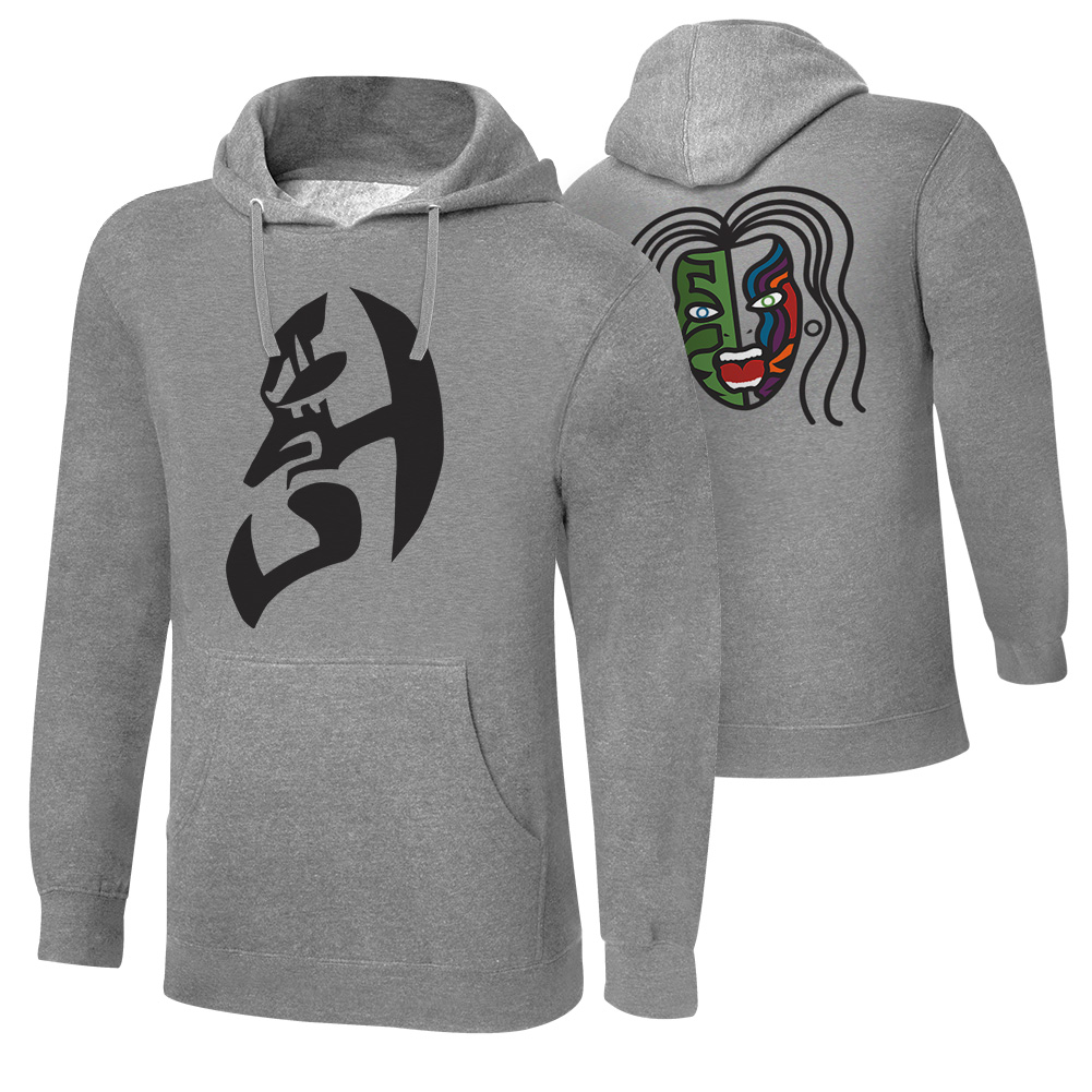"Official Wwe Authentic Jeff Hardy ""Immune To Fear"" Pullover Hoodie Sweatshirt Multi Small"