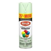 Krylon® ColorMaster Paint + Primer Matte Seaside Green, 15-Oz