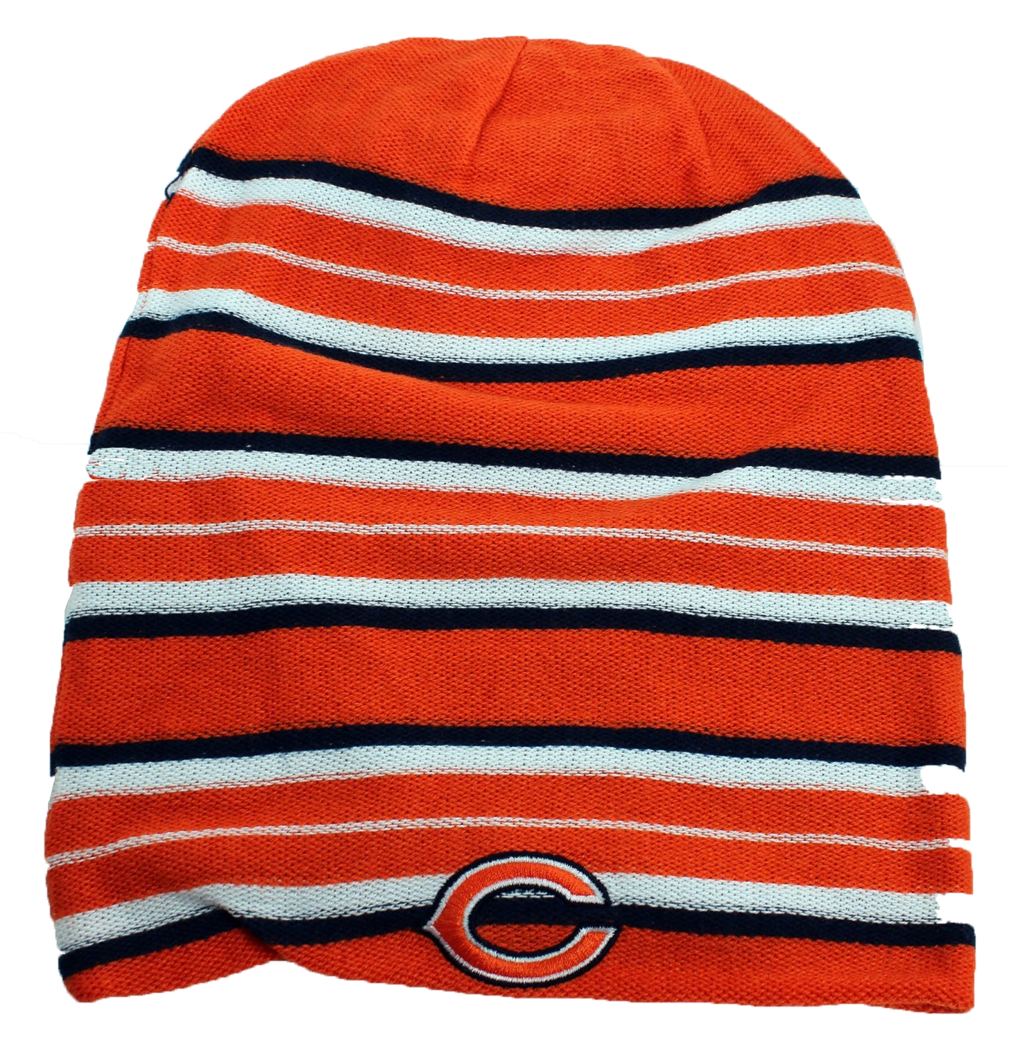 Reebok NFL Chicago Bears Knit Beanie Hat Orange