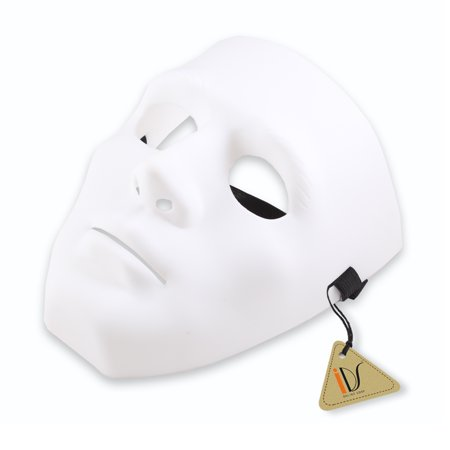 Cool Hiphop Jabbawockeez Masquerade Mask Cosplay Costume Party Mask, White
