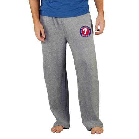 Philadelphia Phillies Pants - Philadelphia Phillies Concepts Sport Mainstream Terry Pants - Gray