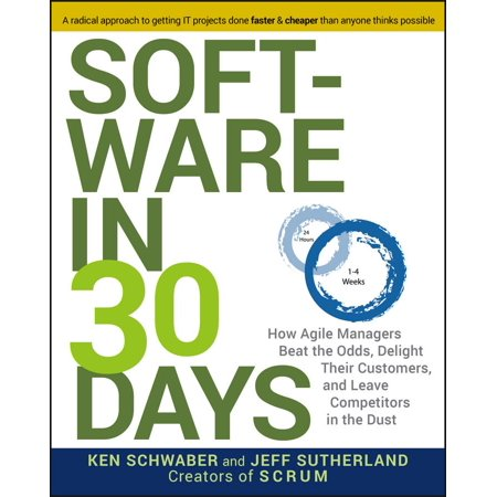 Software in 30 Days : How Agile Managers Beat the Odds, Delight Their Customers, and Leave Competitors in the Dust - Walmart Custome