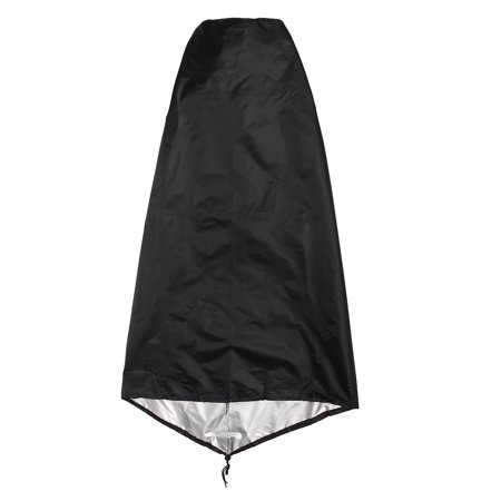 Garden Outdoor Waterproof UV Chimenea Shape Protector Quality Cover,Black  - image 4 of 7