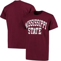 Mississippi State Bulldogs Basic Arch T-Shirt - Maroon