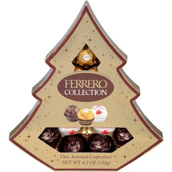 Ferrero Collection 12-Piece 5.3 oz Tree Assorted Confections
