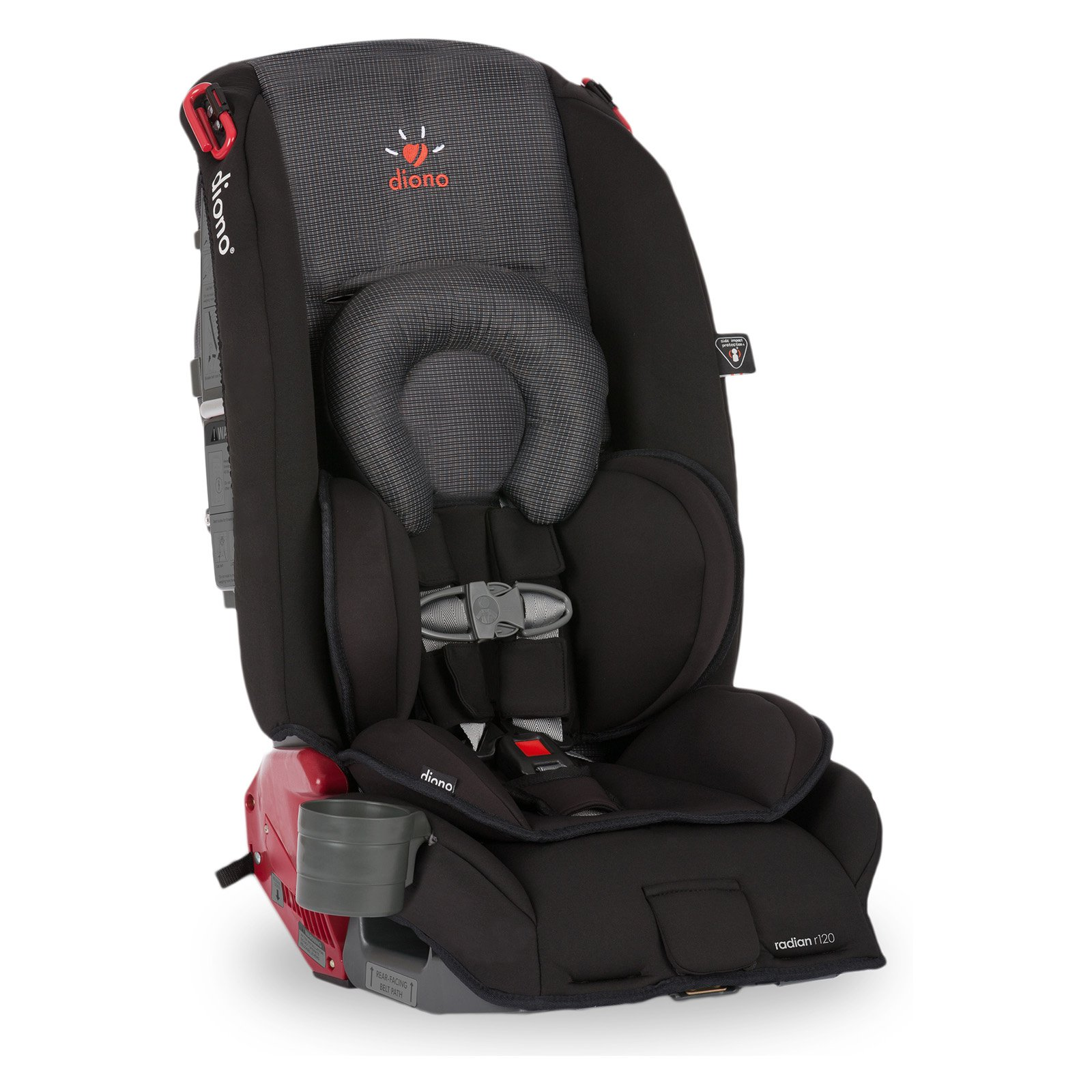 Diono Radian r120 Convertible Car Seat and Booster, Twilight