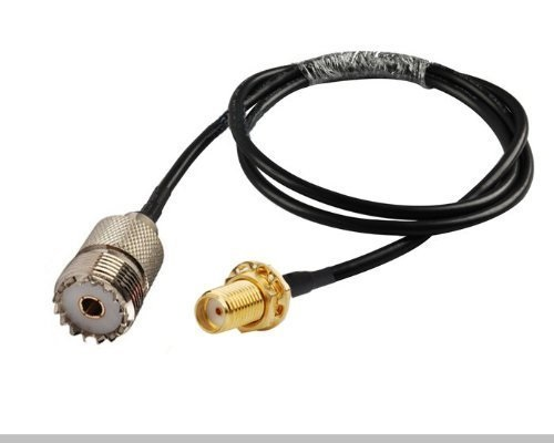 6 inch RGU178 SO239 UHF Female to RCA Male Pigtail Jumper RF coaxial Cable 50ohm Quick USA Shipping