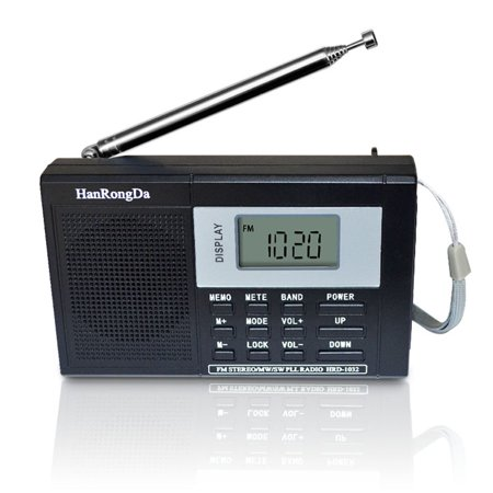 Portable Full-band Digital Tuning Multiband Stereo Tuner MW/AM/FM/SW  Shortwave Radio REC Control Receiver
