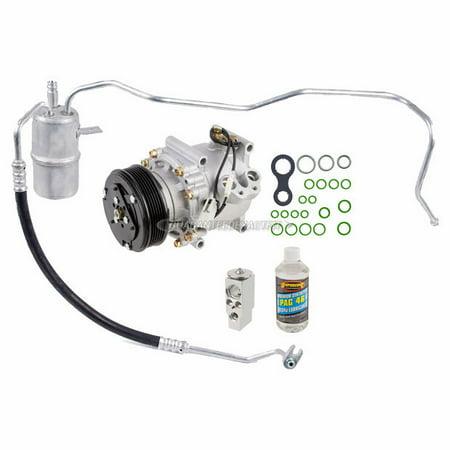 AC Compressor w/ A/C Repair Kit For Chrysler Sebring Dodge Stratus (Dodge Stratus Turbo)