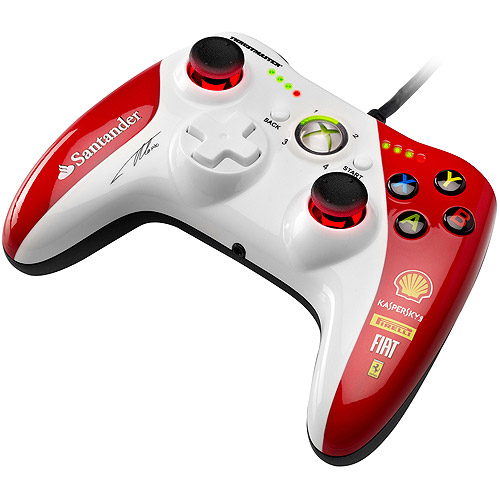 Thrustmaster GPX LightBack Xbox 360 and PC Ferrari F1 Edition Gamepad
