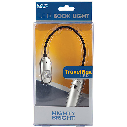 Mighty Bright TravelFlex LED Book Light, Silver