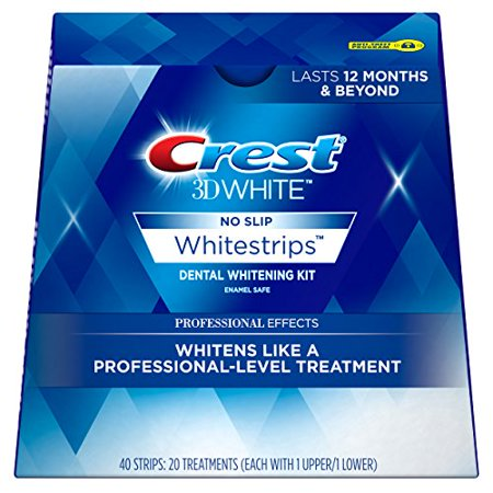 Cr Whitestrips 3d Effets blanc 20ct Pro