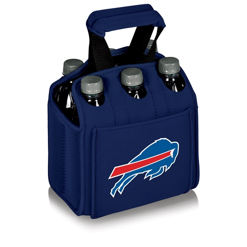 NFL Cooler Tote by Picnic Time, Six Pack - Buffalo Bills, Navy