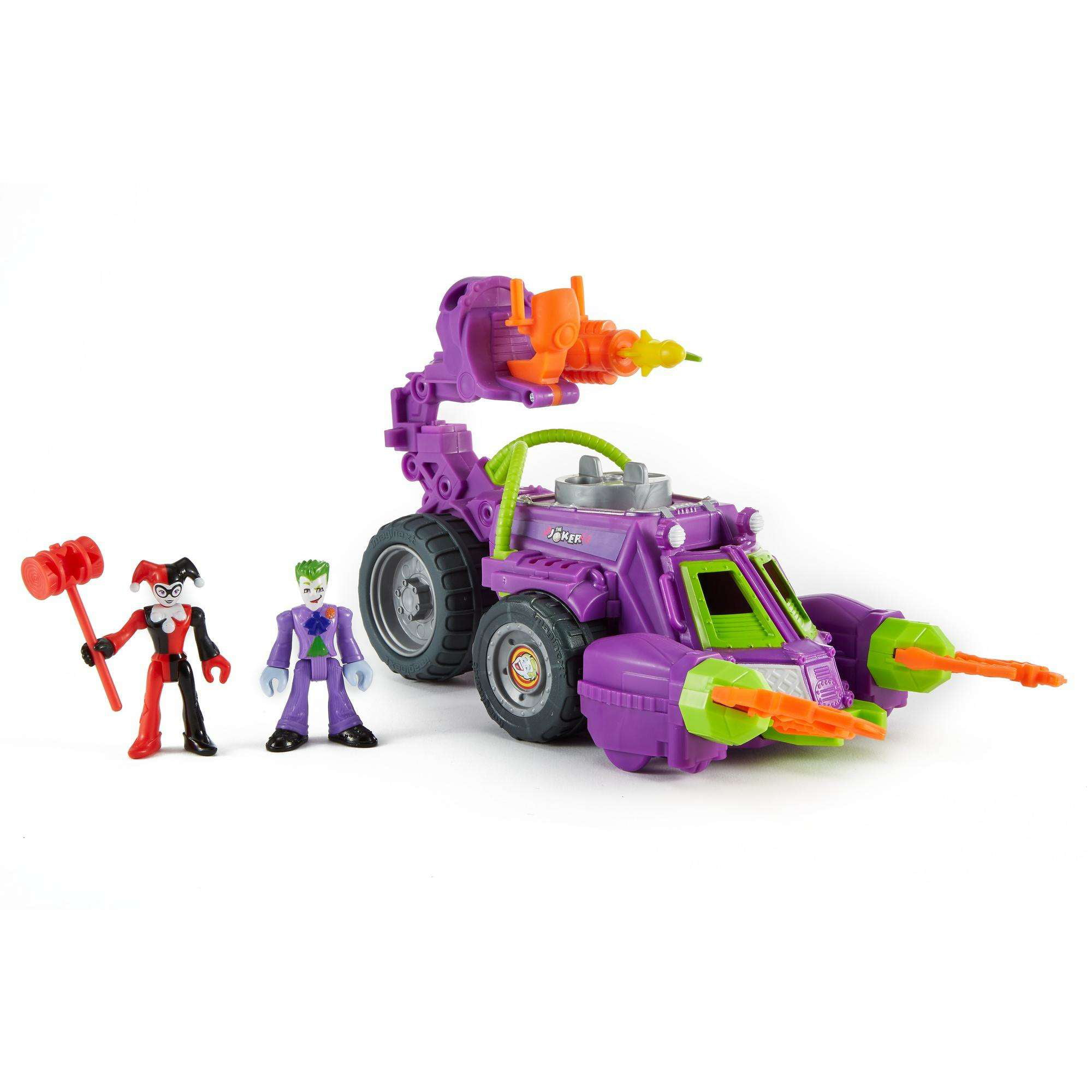 IMaginext DC Super Friends Joker & Harley Quinn Battle Vehicle by TBA