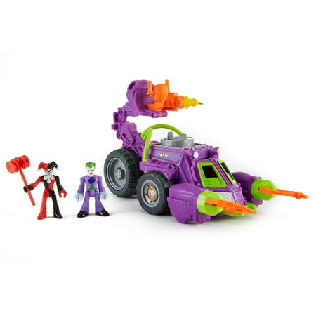 Imaginext DC Super Friends Joker & Harley Quinn Battle Vehicle for $<!---->