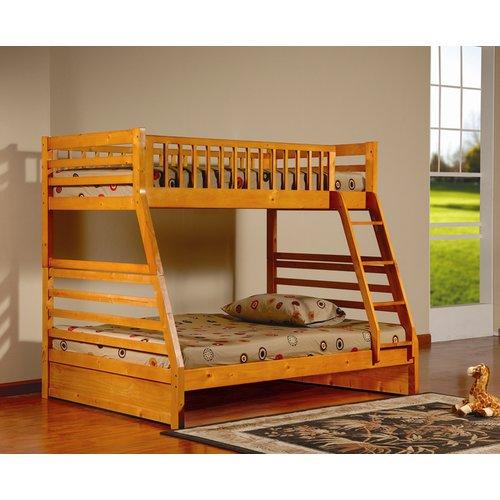 Harriet Bee Alyce Twin Over Full Bunk Bed
