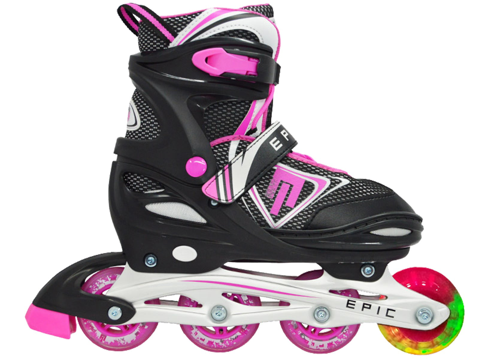 Up Epic Fury Roller Inline Wheels Adjustable wLED Light Skates eWH2EDIY9
