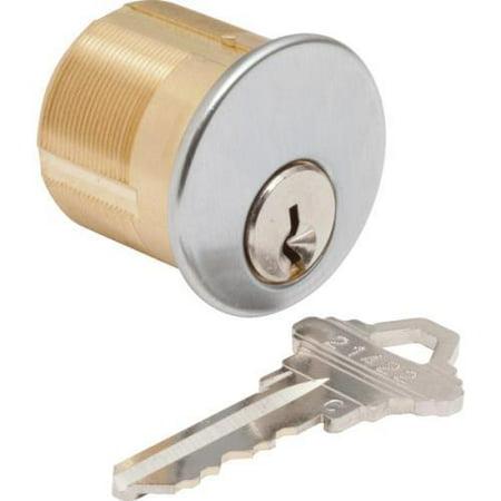 Mortise Cylinder-Standard Cam, Sc1 Kd Satin Chrome ()