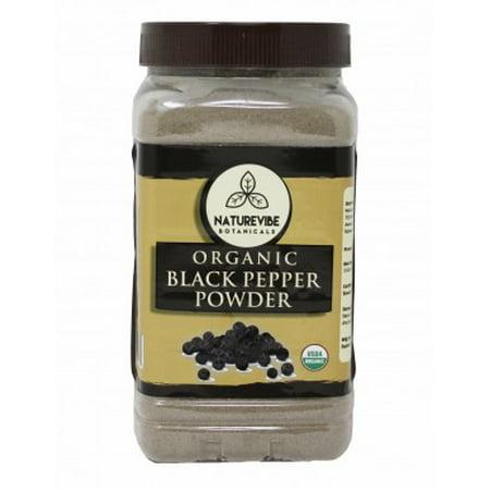 Naturevibe Botanicals Malabar Black Pepper Ground 1 lb ()